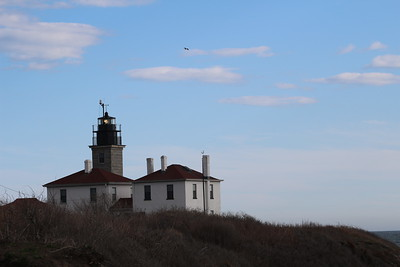 Beavertail Point lighthouse 4-25-15