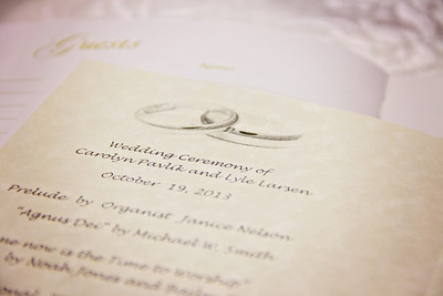Larsen Wedding