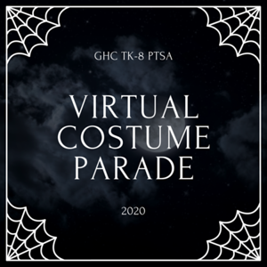 Virtual Halloween Costume Parade 2020
