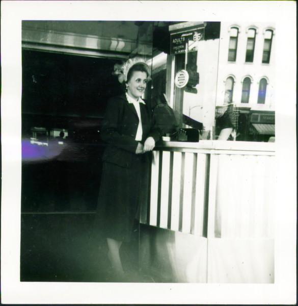Helen Mazarenko at the old Roxy
