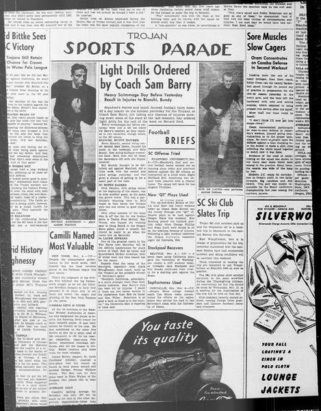 Daily Trojan, Vol. 33, No. 34, October 25, 1941