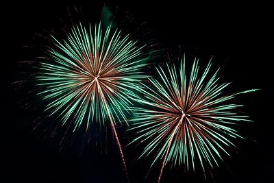 Fireworks - Balloon Fiesta 2014