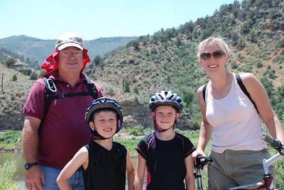 2008 Hanging Lake Biking Trip