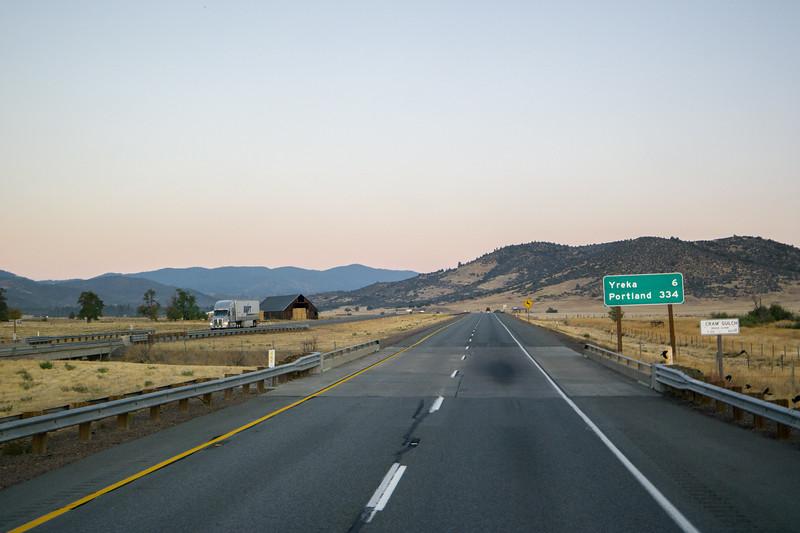 I-5 Near Yreka, CA