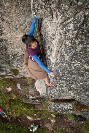 Climbing Zulu Wall