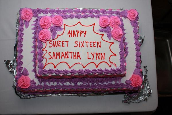 Samantha Santiago's Sweet 16