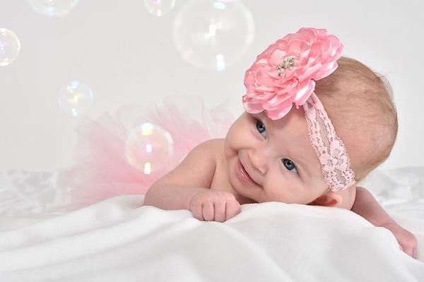 Ava Lynne 3 months