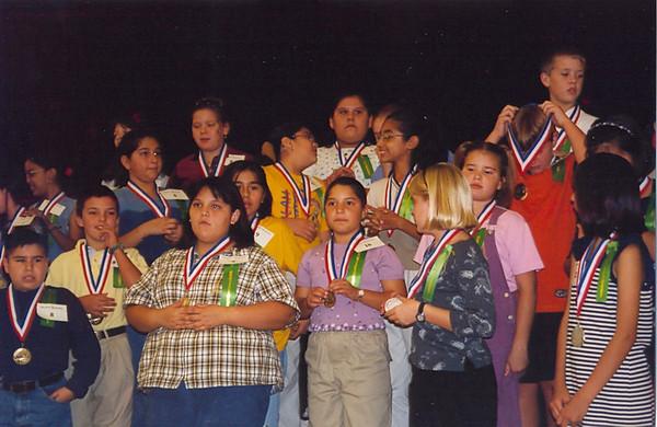 November 1999 Treasure Hills Elementary Awards