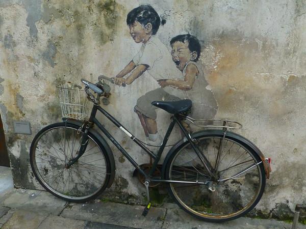 Street Art, Penang Malaysia