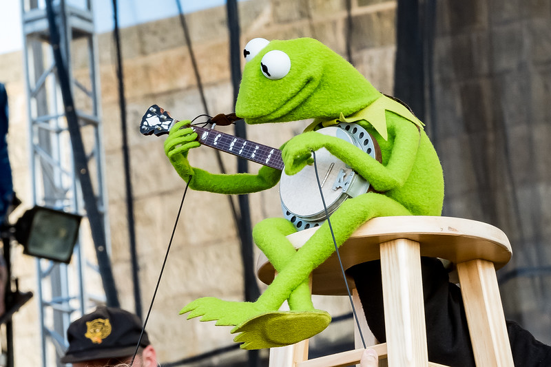 Kermit the Frog- 2019 Newport Folk Festival