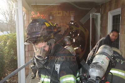 Westbury F.D. Working Fire 695 Bryant St. 12/15/13