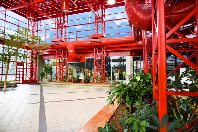Leduc Civic Centre - atrium