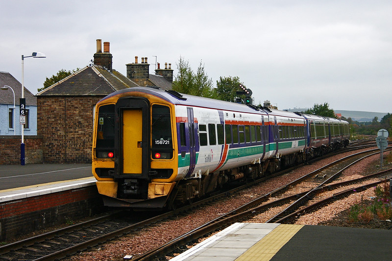 I suspect the pair are now powering up after the Ladybank stop and enter the Newburgh branch.