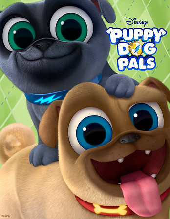 We're howling for new PUPPY DOG PALS coming to Disney Junior April 14th