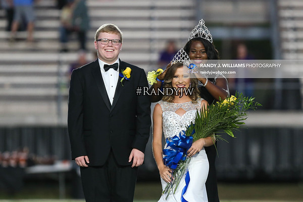 Booneville High's Homecoming Court 2019