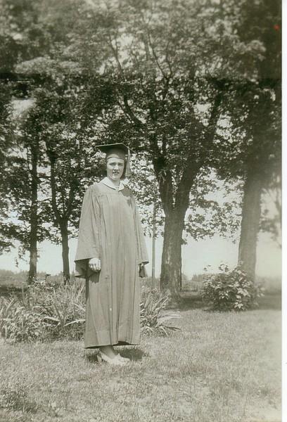 Norma Fleury (Franklin Academy High Graduation) 1946.jpg