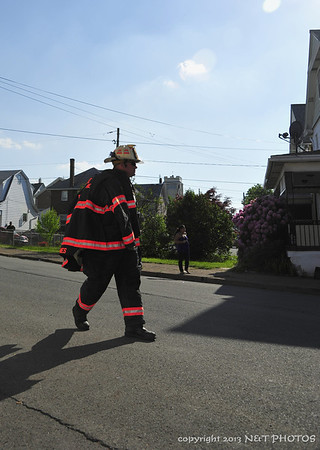 reported possible structure fire 5th & Boundry West Hazleton 5-31-13