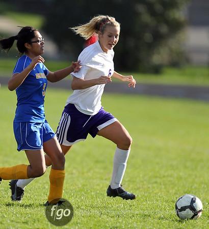 Edison v Southwest Girls Soccer 9-28-10