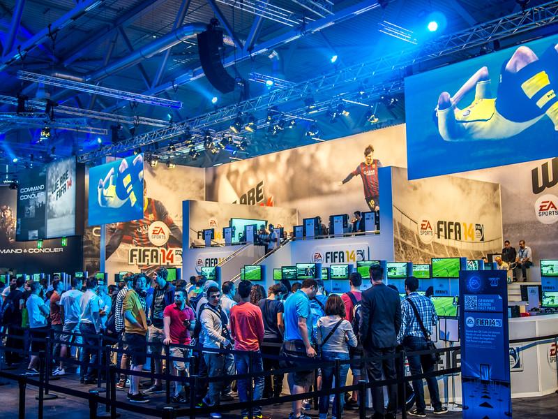 FIFA 14 at Gamescom 2013