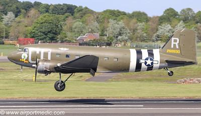 DC3 D-Day visit