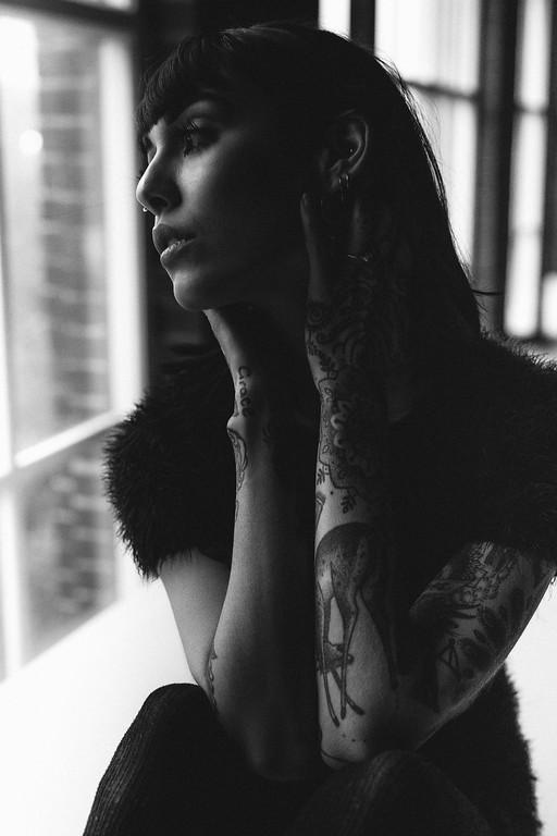 Photograph of Hannah Pixie Snowdon by Adam Elmakias