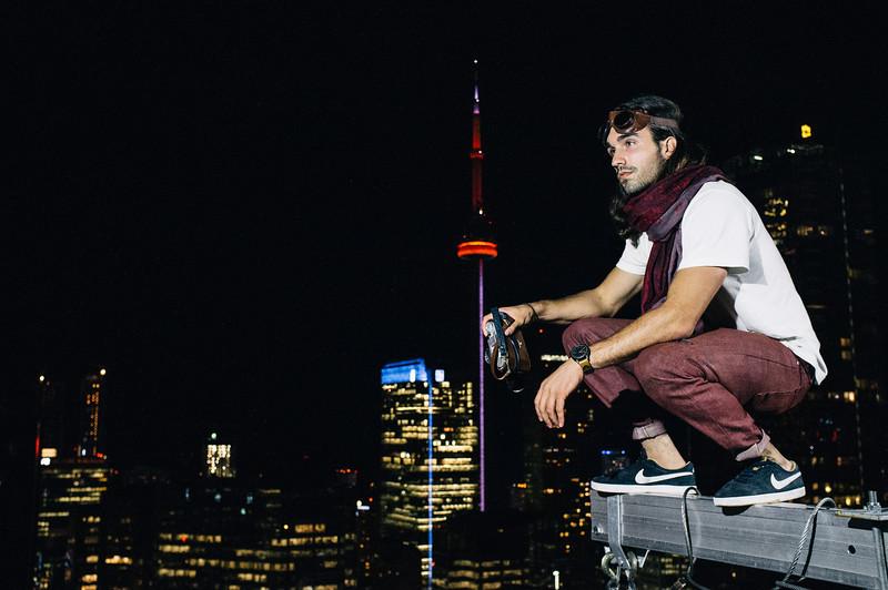 Photo taken on the set of a VonWong photoshoot
