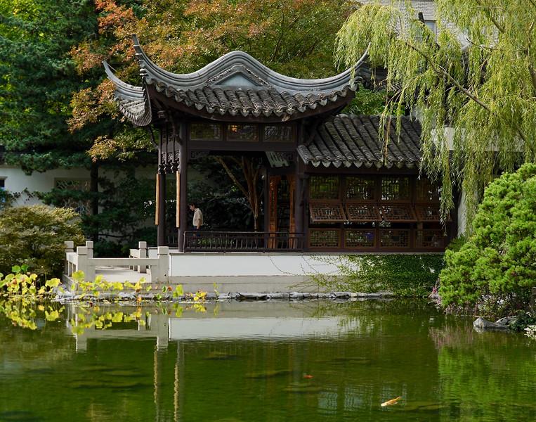 Lan Su Chinese Garden in Portland