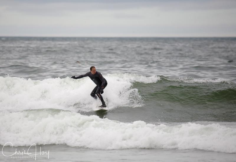Surfer, Pacific City, Oregon