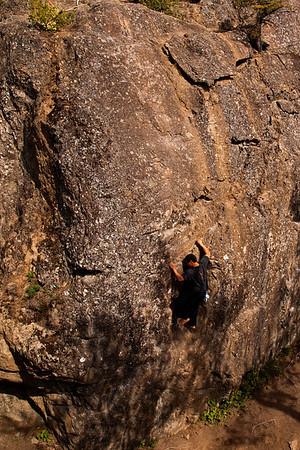 Upper Pivot Climbing