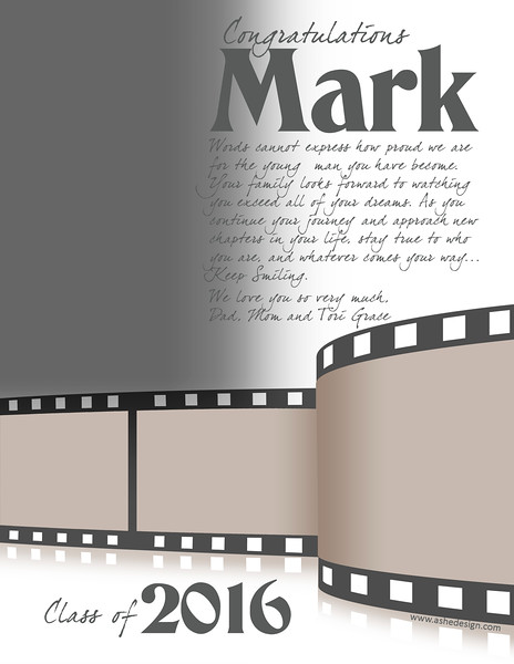 Film Strip - Full Page Template