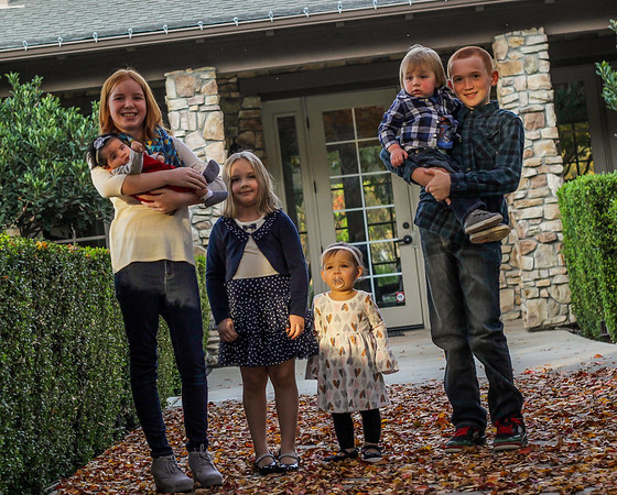 Sharon Evans & Family