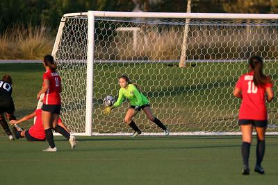 Beckman Girls Soccer Varsity 11.30.18