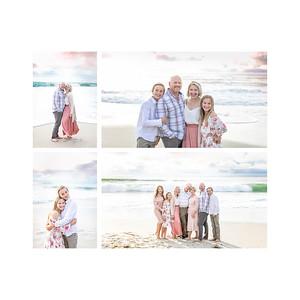 Windansea Beach La Jolla Sunset Extended Family Photography - Kula 2019
