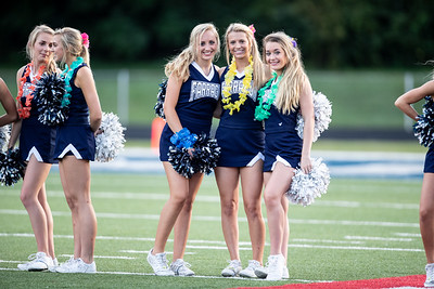 FHS V CHEERLEADERS vs. McMinn Co (8-24-18)