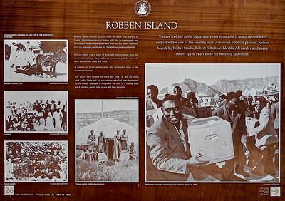 Shanty town & Robben Island