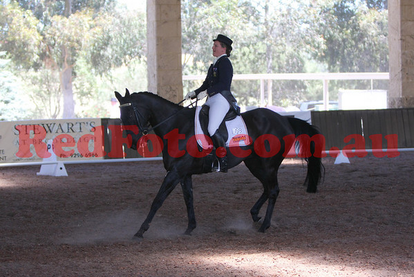 2009 10 17 Brooker Swan River Horse Trials Dressage 3 Star