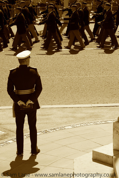 Royal Marines Parade