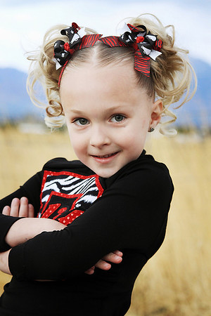 Cheerleading Portraits 2010