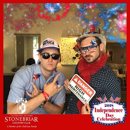 Stonebriar Country Club Independence Day 2018