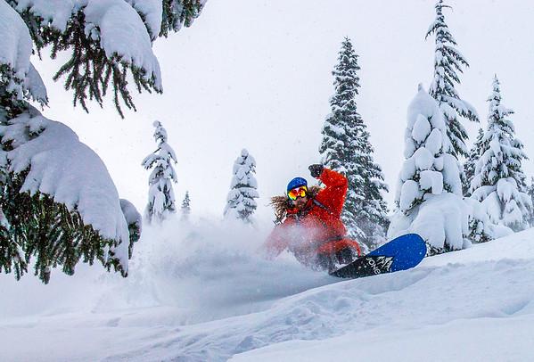 Stormy Ridge Backcountry Snowboarding