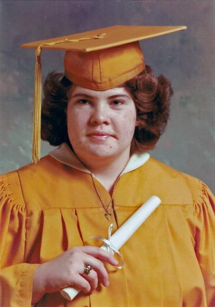 Faye Graduation 1979