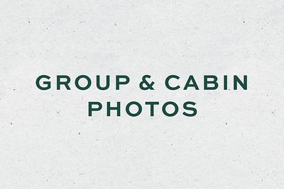 Group + Cabin Photos