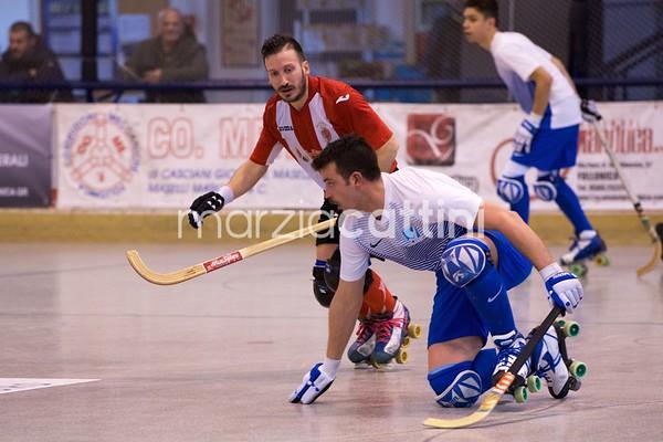 Semifinali: Hockey Sandrigo vs H.P. Montebello