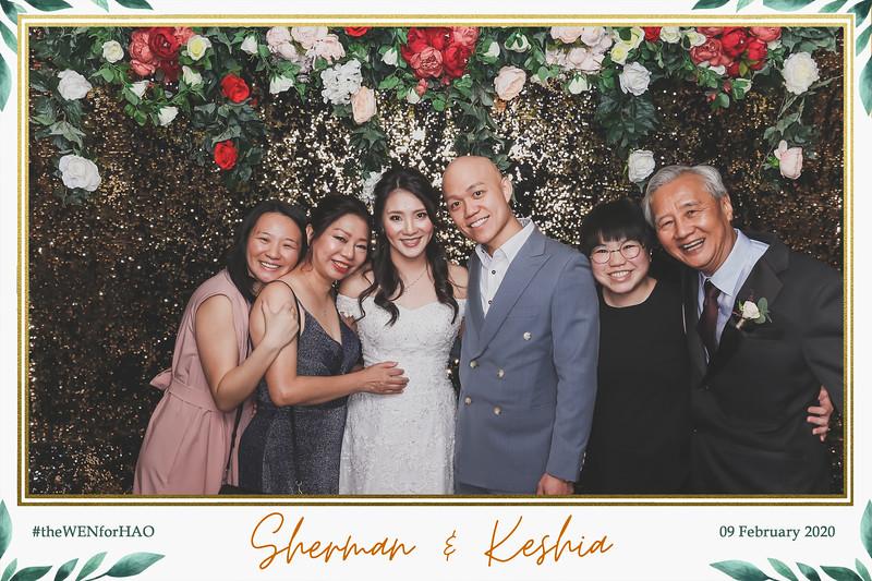 Wedding of Sherman & Keshia   © www.SRSLYPhotobooth.sg