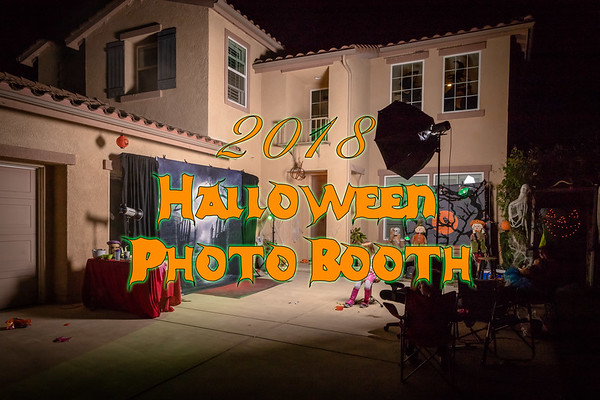 2018 Halloween Photo Booth