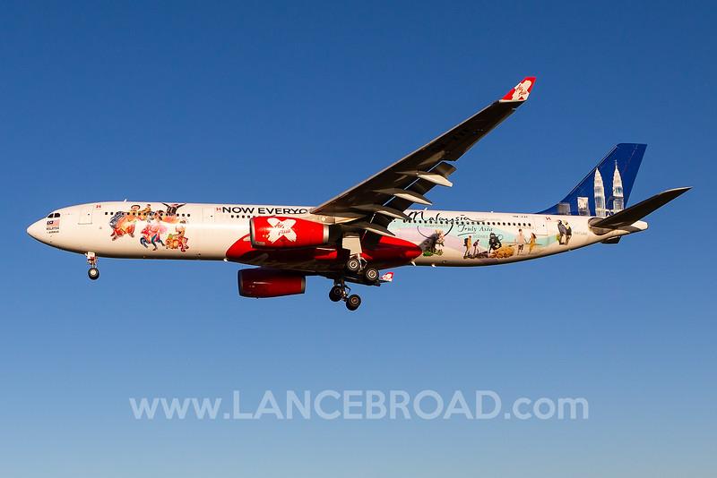 Air Asia X A330-300 - 9M-XXF - OOL