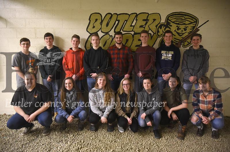 16454 Butler High School Rifle team