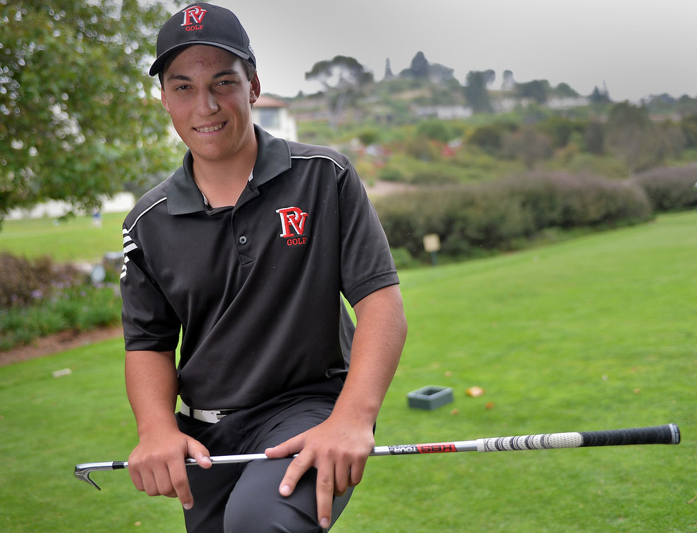 . 0613_SPT_TDB-L-POY_COOTES-- 20130612 - Gardena, CA --Daily Breeze Staff Photo: Robert Casillas / LANG --- Roy Cootes of Palos Verdes High is the 2013 Daily Breeze Golfer of the Year.