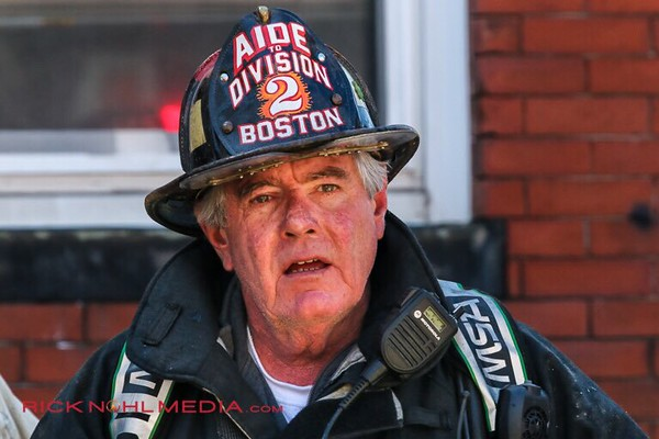 2 Alarm Structure Fire - 78 W Cottage St, Boston, MA - 4/23/17