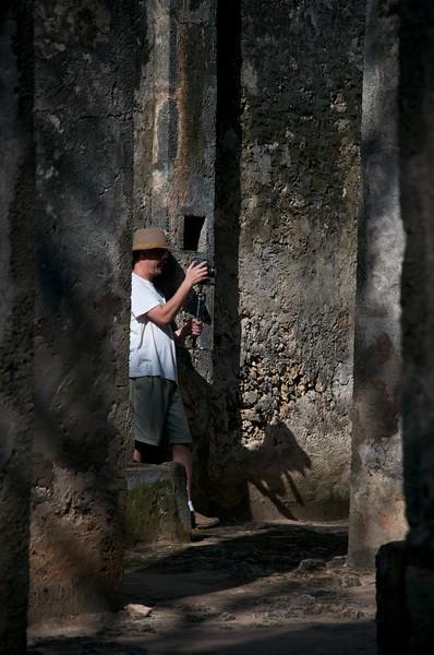 Filming in Malindi, Kenya